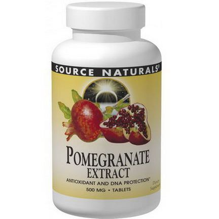Source Naturals, Pomegranate Extract, 500mg, 60 Tablets