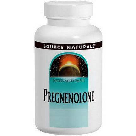 Source Naturals, Pregnenolone, 50mg, 120 Tablets