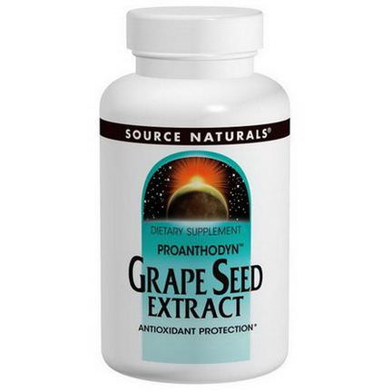 Source Naturals, Proanthodyn, Grape Seed Extract, 200mg, 90 Capsules