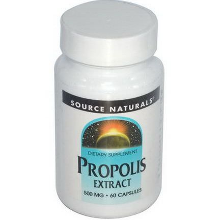 Source Naturals, Propolis Extract, 500mg, 60 Capsules