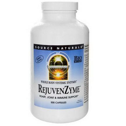 Source Naturals, RejuvenZyme, 500 Capsules