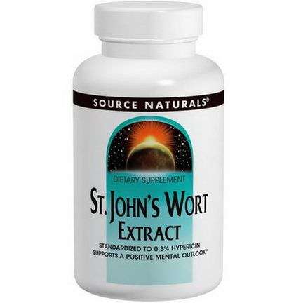 Source Naturals, St. John's Wort Extract, 300mg, 240 Tablets