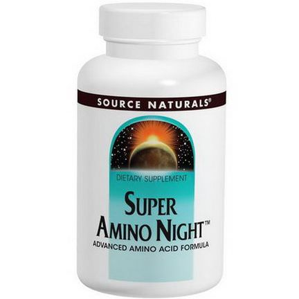 Source Naturals, Super Amino Night, 240 Tablets