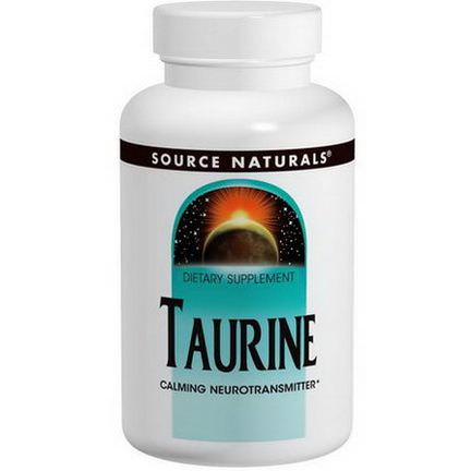 Source Naturals, Taurine, 500mg, 120 Tablets