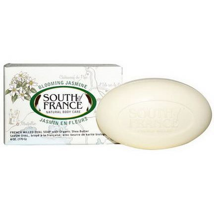 South of France, Blooming Jasmine, French Milled Oval Soap with Organic Shea Butter 170g