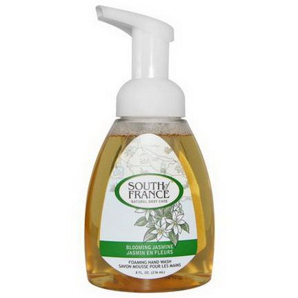 South of France, Foaming Hand Wash, Blooming Jasmine 236ml