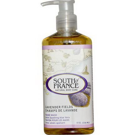 South of France, Lavender Fields, Hand Wash with Soothing Aloe Vera 236ml