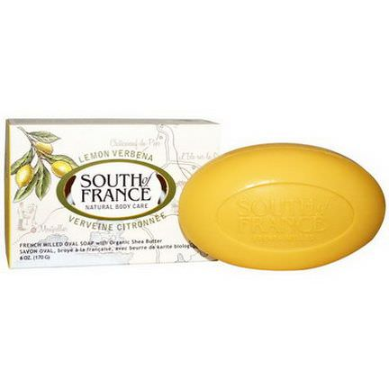 South of France, Lemon Verbena, French Milled Oval Soap with Organic Shea Butter 170g