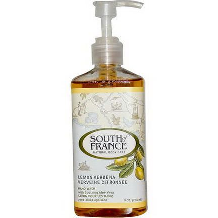 South of France, Lemon Verbena, Hand Wash with Soothing Aloe Vera 236ml