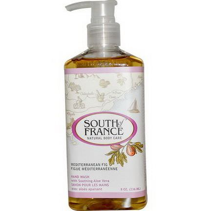 South of France, Mediterranean Fig, Hand Wash with Soothing Aloe Vera 236ml