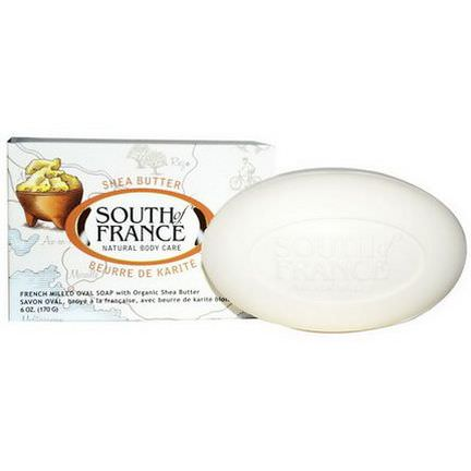 South of France, Shea Butter, French Milled with Organic Shea Butter 170g