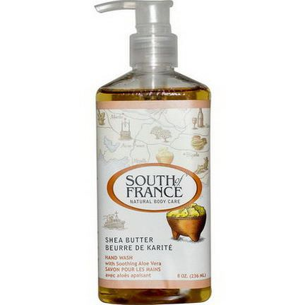 South of France, Shea Butter, Hand Wash with Soothing Aloe Vera 236ml