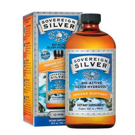 Sovereign Silver, Bio-Active Silver Hydrosol 946ml