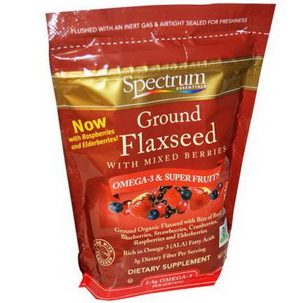 Spectrum Essentials, Ground Flaxseed with Mixed Berries 340g