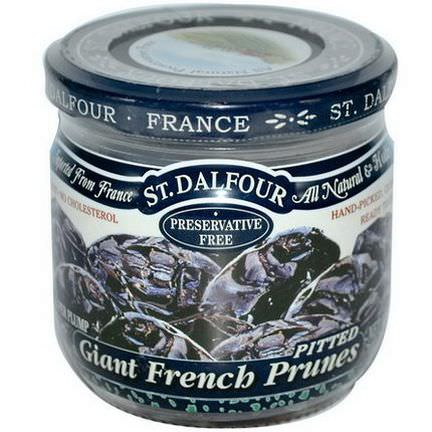St. Dalfour, Giant French Prunes, Pitted 200g