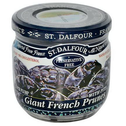 St. Dalfour, Giant French Prunes with Pits 200g
