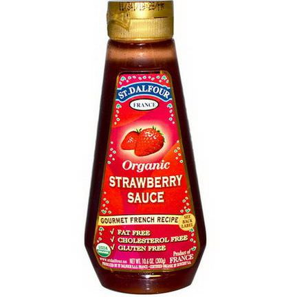 St. Dalfour, Organic Strawberry Sauce 300g
