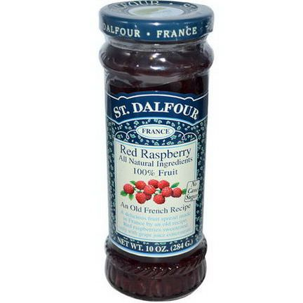 St. Dalfour, Red Raspberry, Fruit Spread 284g