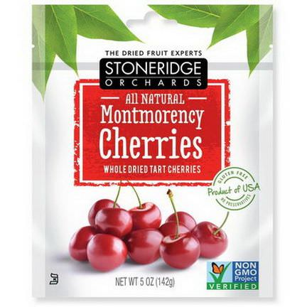 Stoneridge Orchards, Montmorency Cherries, Whole Dried Tart Cherries 142g