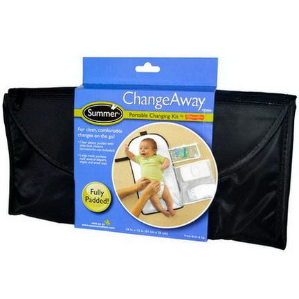 Summer Infant, ChangeAway, Portable Changing Kit, From Birth&Up 61 cm x 33 cm