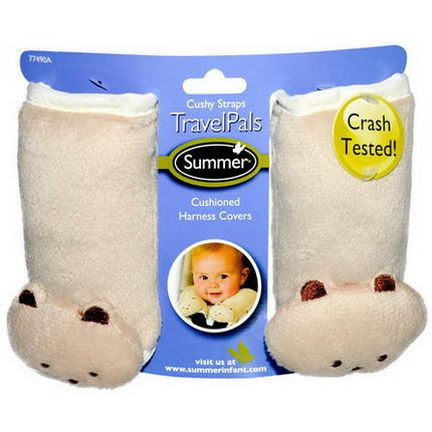 Summer Infant, Travel Pals, Cushy Straps, 2 Harness Covers