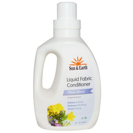 Sun&Earth, Liquid Fabric Conditioner, Floral Blend 1200ml