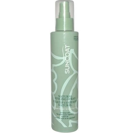 Suncoat, Natural Styling Spray, Medium Hold 210ml