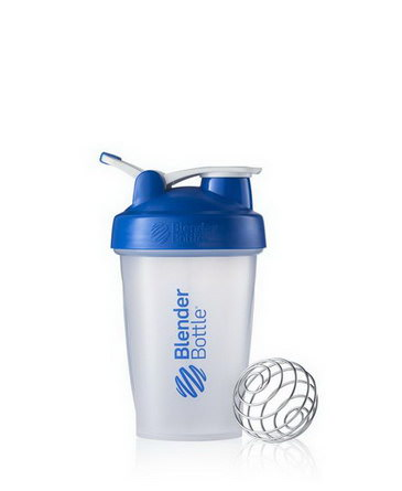 Sundesa, Classic Blender Bottle with Loop, Blue, 20 oz Bottle