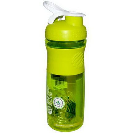 Sundesa, SportMixer Blender Bottle, Green/White, 28 oz Bottle