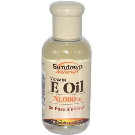 Rexall Sundown Naturals, Vitamin E Oil, 70,000 IU 75ml