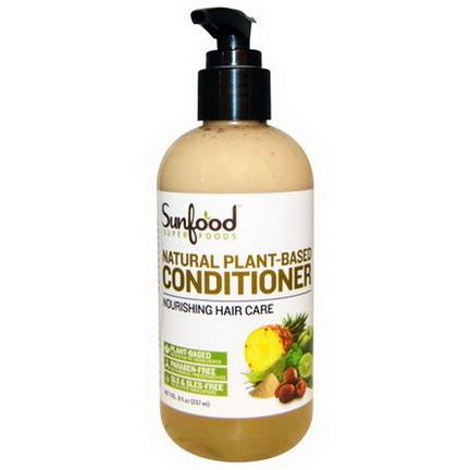 Sunfood, Natural Plant-Based Conditioner 237ml
