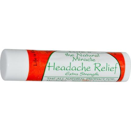 Tate's, The Natural Miracle Headache Relief, Extra Strength, 4.25g