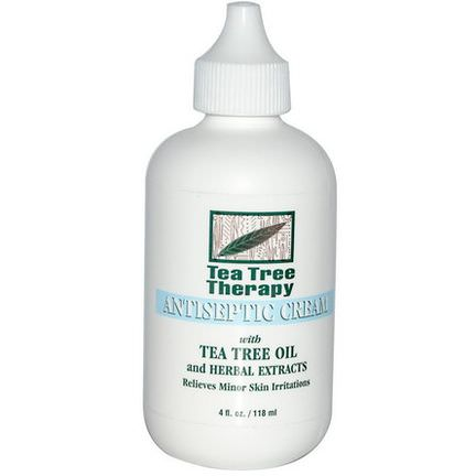 Tea Tree Therapy, Antiseptic Cream, with Tea Tree Oil and Herbal Extracts 118ml