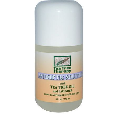 Tea Tree Therapy, Antiseptic Solution, With Tea Tree Oil and Lavender 118ml