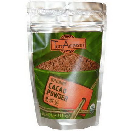 TerrAmazon, Organic Cacao Powder 113g