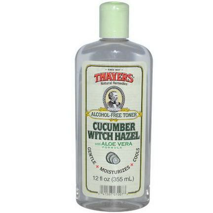 Thayers, Alcohol Free Toner, Cucumber Witch Hazel with Aloe Vera Formula 355ml