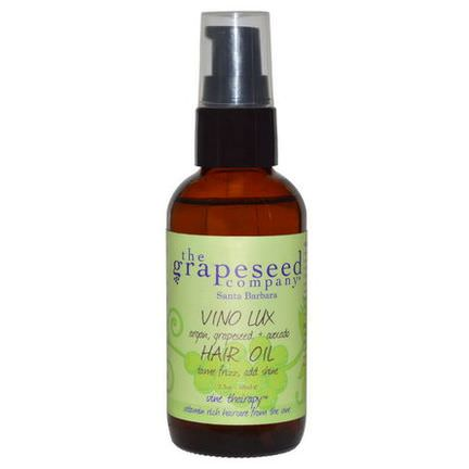 The Grapeseed Company Santa Barbara, VineThairapy, Vino Lux Hair Oil 68ml
