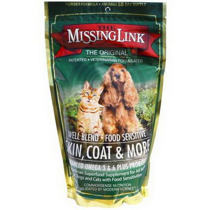 The Missing Link, Designing Health Inc, Skin, Coat&More, for Dogs and Cats 454g