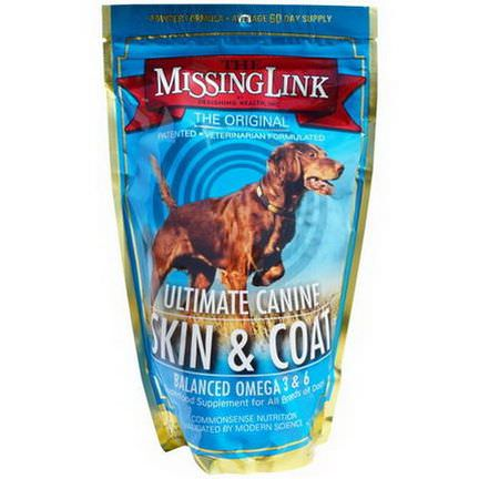 The Missing Link, Designing Health, Inc, Ultimate Canine Skin&Coat, for Dogs 454g