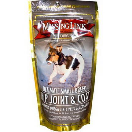 The Missing Link, Ultimate Small Breed - Hip, Joint&Coat for Dogs 227g