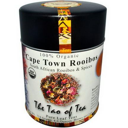 The Tao of Tea, 100% Organic Cape Town Rooibos, Caffeine Free 114g