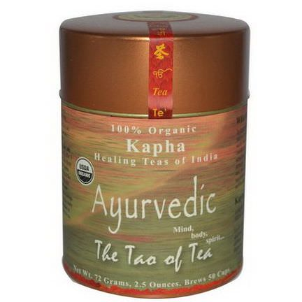The Tao of Tea, 100% Organic Kapha Ayurvedic Tea, Caffeine Free 72g