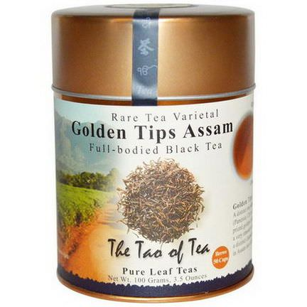 The Tao of Tea, Full-Bodied Black Tea, Golden Tips Assam 100g