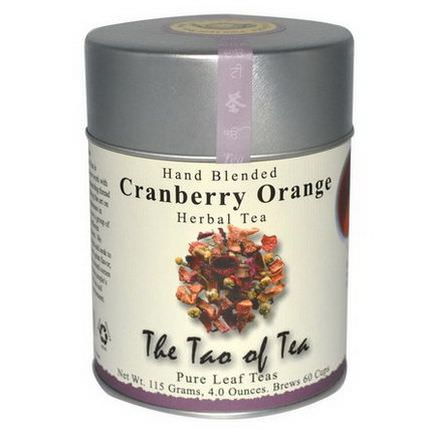 The Tao of Tea, Hand Blended Herbal Tea, Cranberry Orange 115g