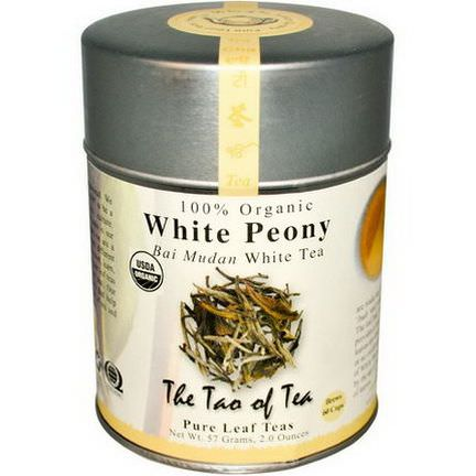 The Tao of Tea, Organic Bai Mudan White Tea, White Peony 57g