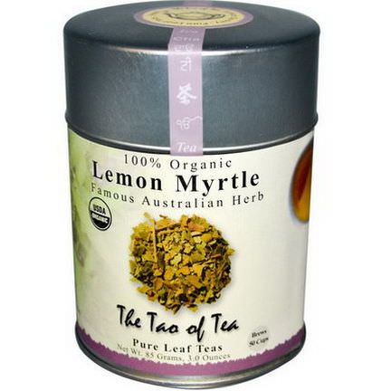 The Tao of Tea, Organic Famous Australian Herb, Lemon Myrtle, Caffeine Free 85g