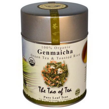The Tao of Tea, Organic Genmaicha, Green Tea&Toasted Rice 100g