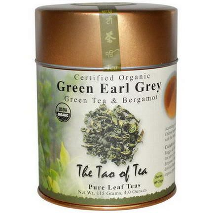 The Tao of Tea, Organic Green Tea&Bergamot, Green Earl Grey 115g