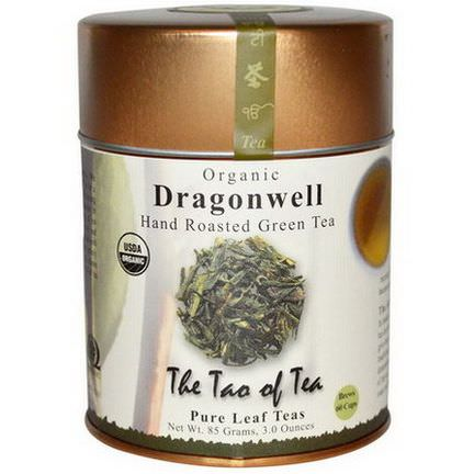 The Tao of Tea, Organic Hand Roasted Green Tea, Dragonwell 85g