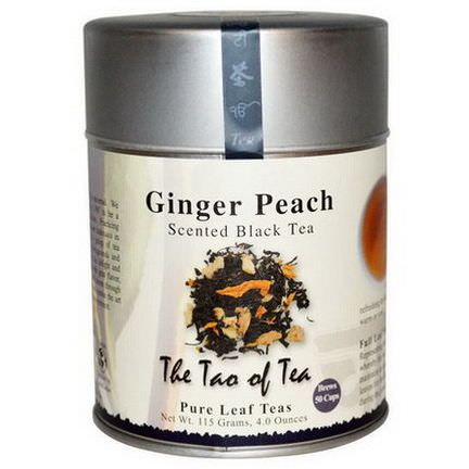 The Tao of Tea, Scented Black Tea, Ginger Peach 115g